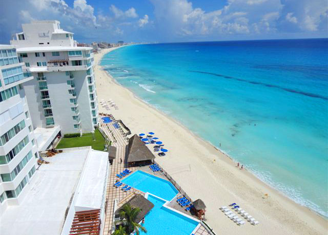 Bellevue Beach Paradise Hotel All Inclusive Cancun Mexico